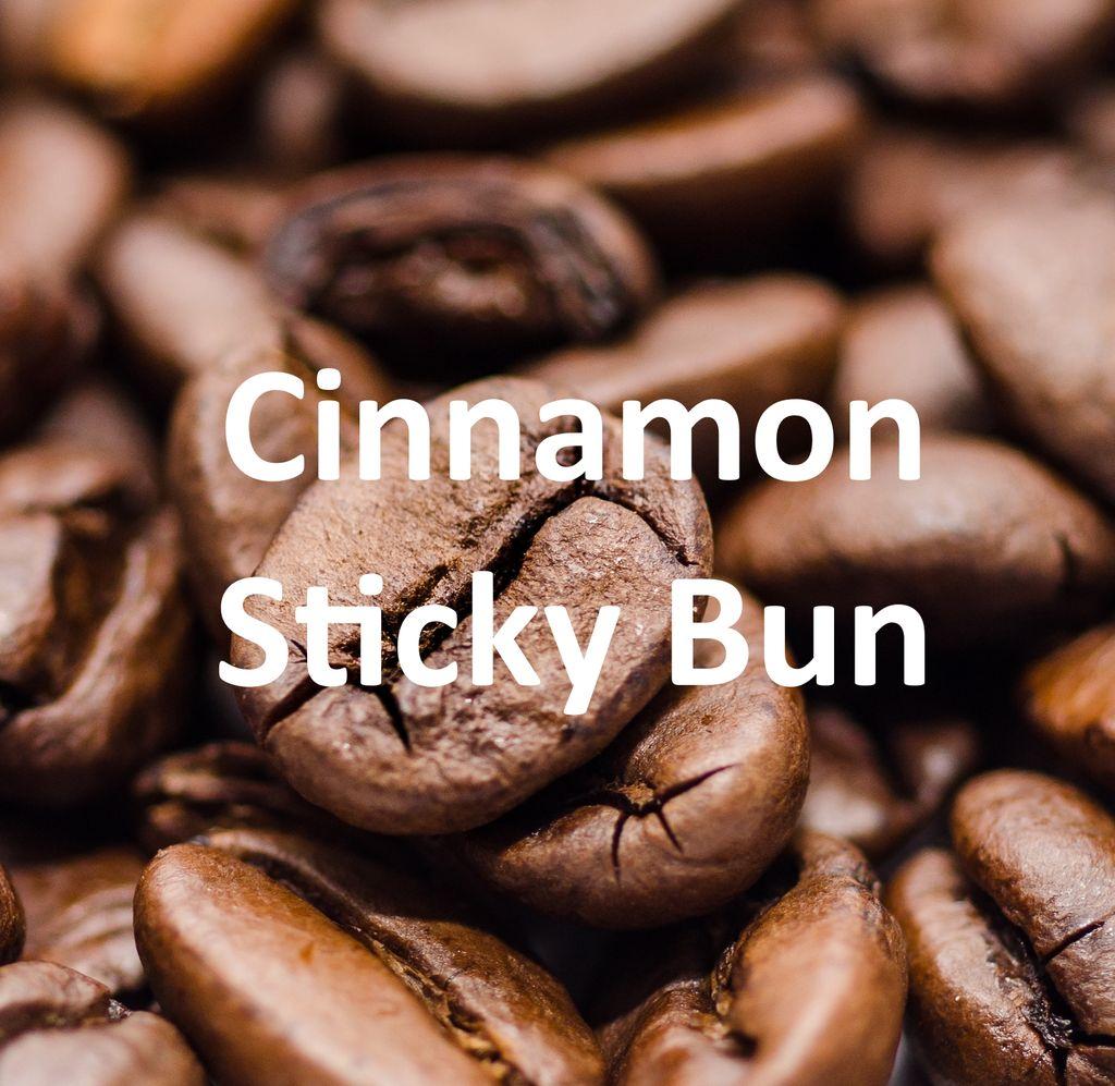 Corim Cinnamon Sticky Bun Flavored Whole Bean Coffee, 5 lb Bag