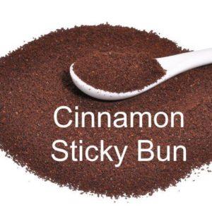 Corim Cinnamon Sticky Bun Flavored Ground Coffee, 1 lb Bag