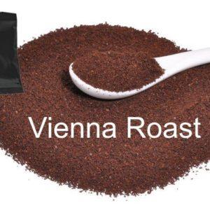 Corim Vienna Roast Ground Coffee 2.5 oz Portion Pack, Case Of 24