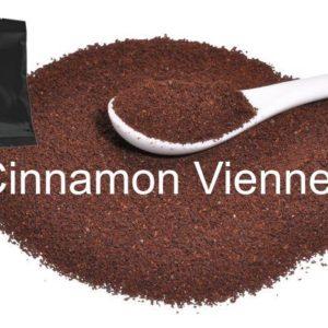 Corim Cinnamon Viennese Flavored Ground Coffee 2.0 oz Portion Pack, Case Of 24