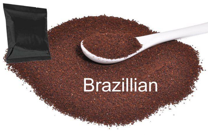 Corim Brazillian Ground Coffee 1.75 oz Portion Pack, Case Of 42