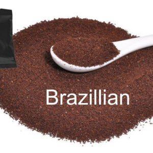 Corim Brazillian Ground Coffee 3.0 oz Portion Pack, Case Of 24