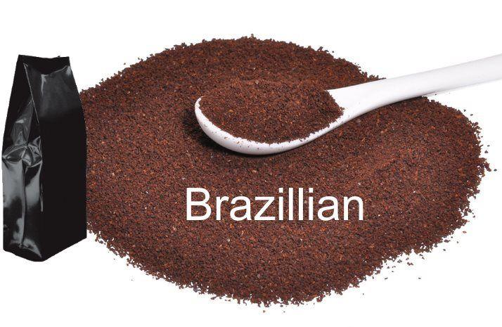 Corim Brazillian Ground Coffee, 5 lb Bag