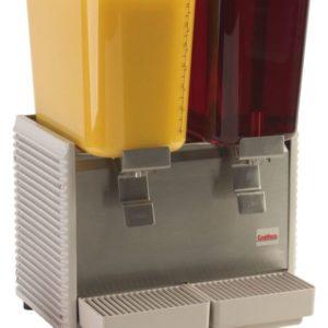Crathco D25-3 Classic Bubbler Two Bowl Premix Cold Beverage Dispenser