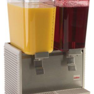 Crathco D25-4 Classic Bubbler Two Bowl Premix Cold Beverage Dispenser