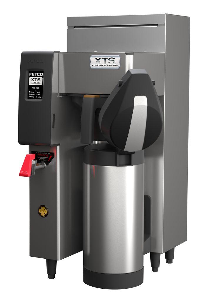 Fetco CBS-2131-XTS Coffee Brewer, Plastic Brew Basket, 1.5 kW Heater, 120 Volt