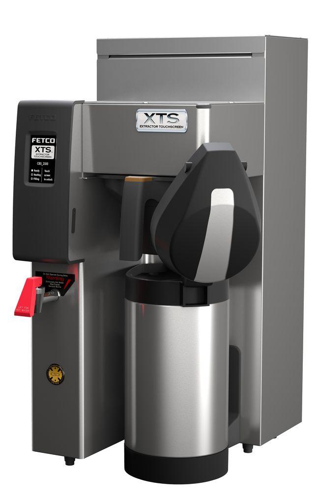 Fetco CBS-2131-XTS Coffee Brewer, Plastic Brew Basket, 1.7 kW Heater, 120 Volt Or 120/240 Volt