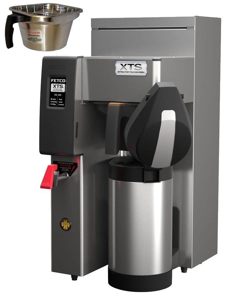 Fetco CBS-2131-XTS Coffee Brewer, Metal Brew Basket, 2.3 kW Heater, 120 Volt Or 120/240 Volt