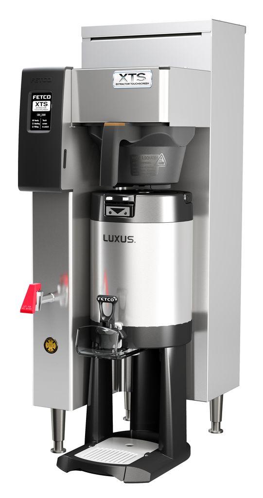 Fetco CBS-2141-XTS Coffee Brewer, Plastic Brew Basket, 120 Volt Or 120/240 Volt, 1.5 kW Heater