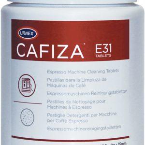 Urnex Cafiza Espresso Machine Cleaning Tablets, 100 2g Tablet Jars, Case Of 12