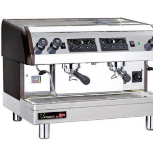 Cecilware ESP2-220V Venezia II Two Group Automatic / Semi-Automatic Espresso Machine