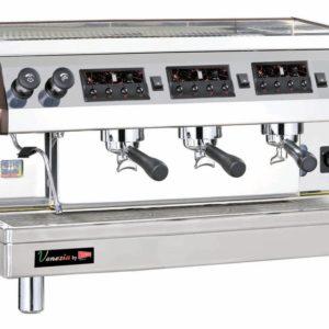 Cecilware ESP3-220V Venezia II Three Group Automatic / Semi-Automatic Espresso Machine