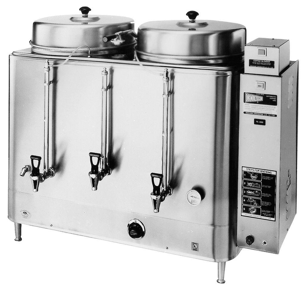 Cecilware FE300 Twin 10 Gallon Urn Coffee Brewer