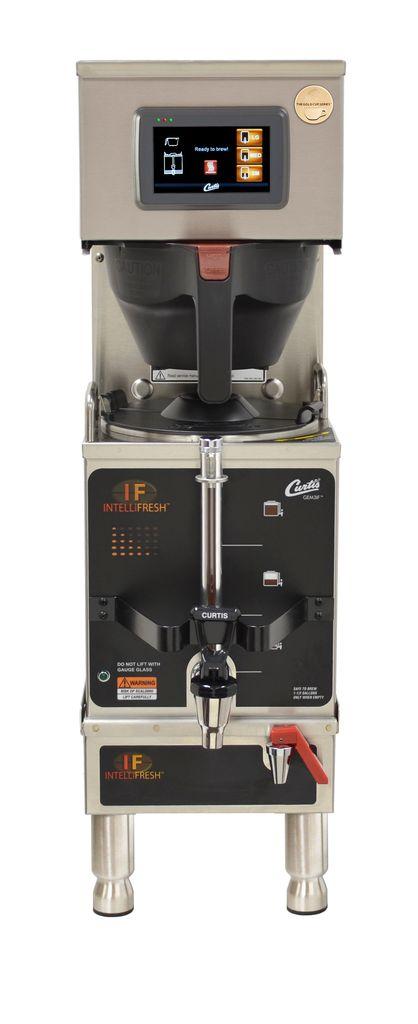 Curtis G4 Gemini IntelliFresh 1.5 Gallon Satellite Coffee Brewer, Dual Voltage