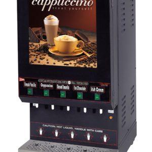 Cecilware GB5M10-LD Five Flavor Hot Powdered Cappuccino Dispenser