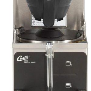 Curtis Gemini 1 Gallon Satellite Coffee Brewer, 120 Volt