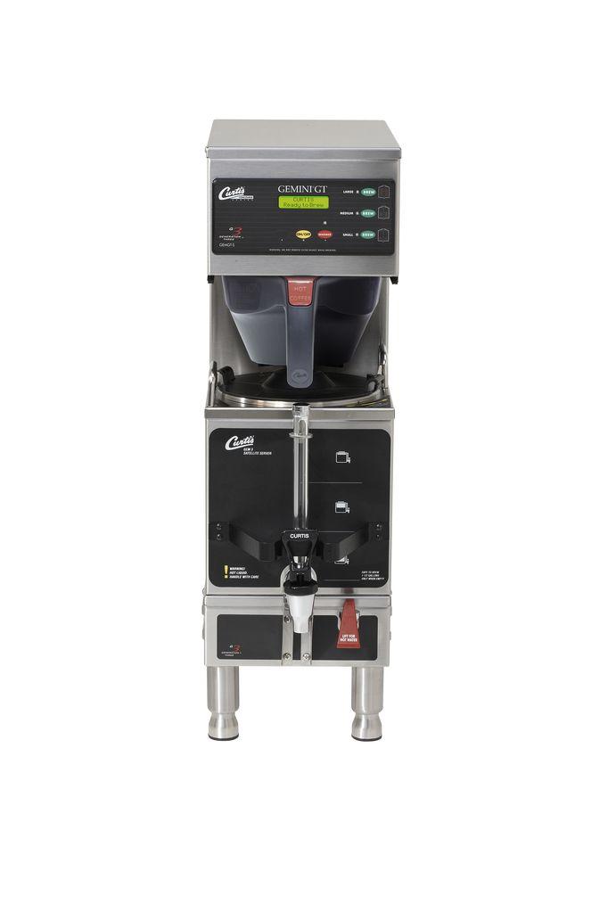 Curtis G3 Gemini 1.5 Gallon Satellite Coffee Brewer, Dual Voltage