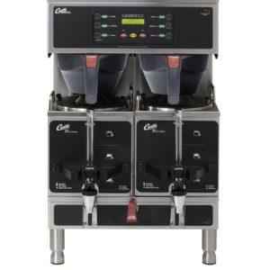 Curtis G3 Gemini Twin 1.5 Gallon Satellite Coffee Brewer, 3 Phase 3 Wire + Ground