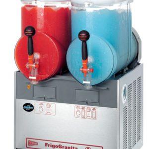 Cecilware FrigoGranita GIANT2 Two Bowl Frozen Beverage Dispenser, Stainless Steel