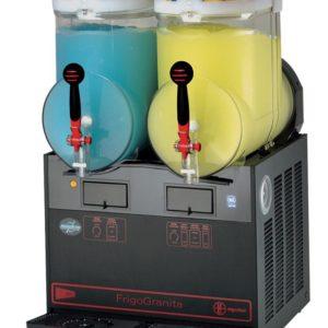 Cecilware FrigoGranita GIANT2BL Two Bowl Frozen Beverage Dispenser, Black