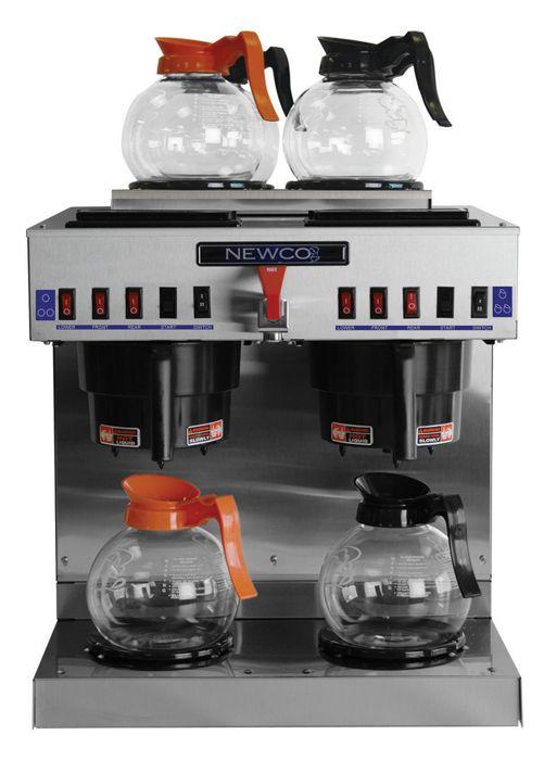 Newco GKDF-6 Dual Modular Decanter / Satellite Coffee Brewer 2 Lower, 4 Upper Warmers