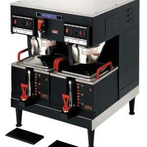 Newco GXDF2-15 Dual Satellite Coffee Brewer 2 Lower Warmers
