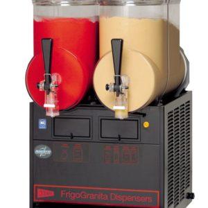 Cecilware FrigoGranita MT2ULBL Two Bowl Frozen Beverage Dispenser, Black