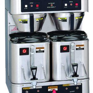 Grindmaster P400E Twin 1.5 Gallon Satellite Coffee Brewer