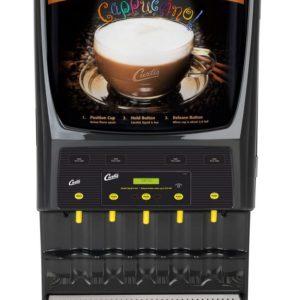 Curtis Primo Cappuccino 5 Flavor Powdered Cappuccino Machine, Dual Voltage