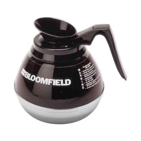Bloomfield Unbreakable Decanter, Black Handle, Case Of 3