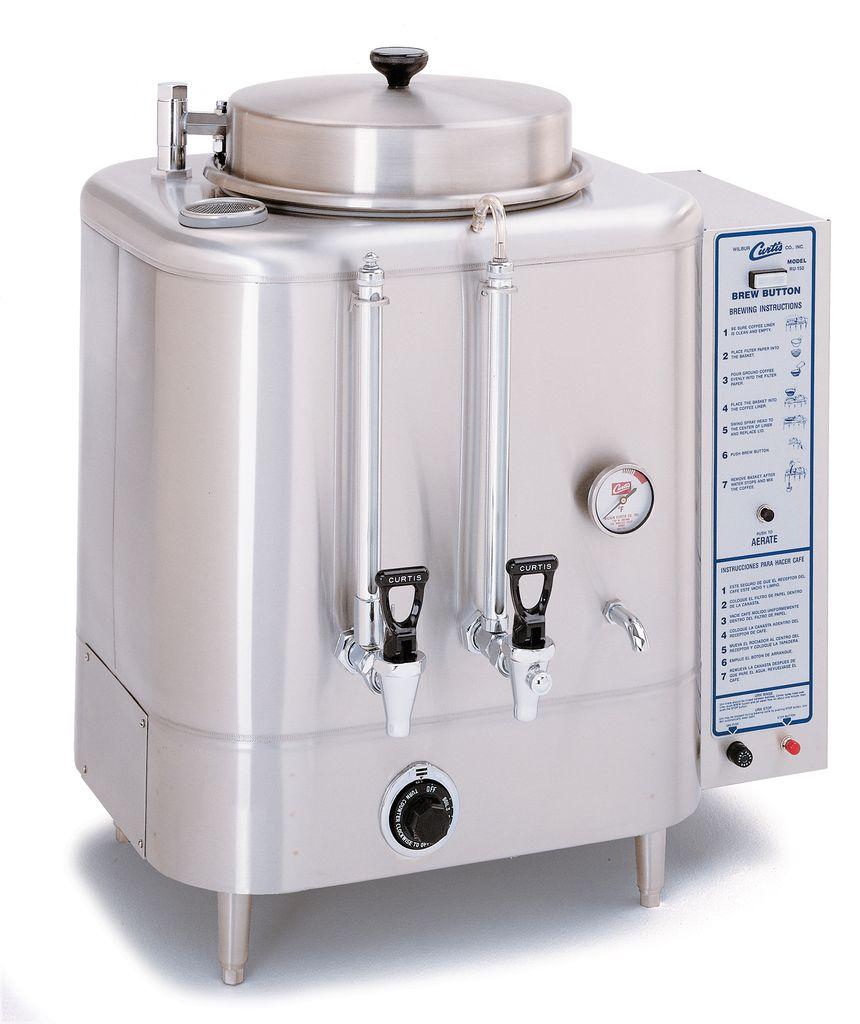 Curtis 3 Gallon Urn Coffee Brewer, 3 Phase