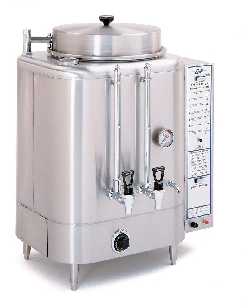 Curtis 6 Gallon Urn Coffee Brewer, 208/220 Volt