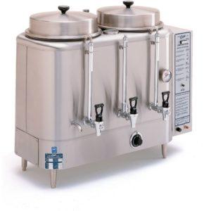 Curtis Twin 3 Gallon Urn Coffee Brewer, 208/220 Volt