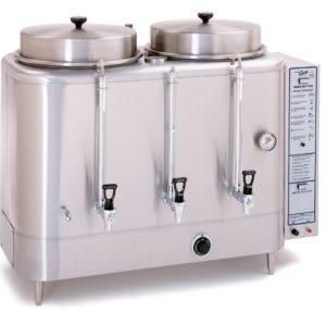 Curtis Twin 6 Gallon Urn Coffee Brewer, Natural Gas