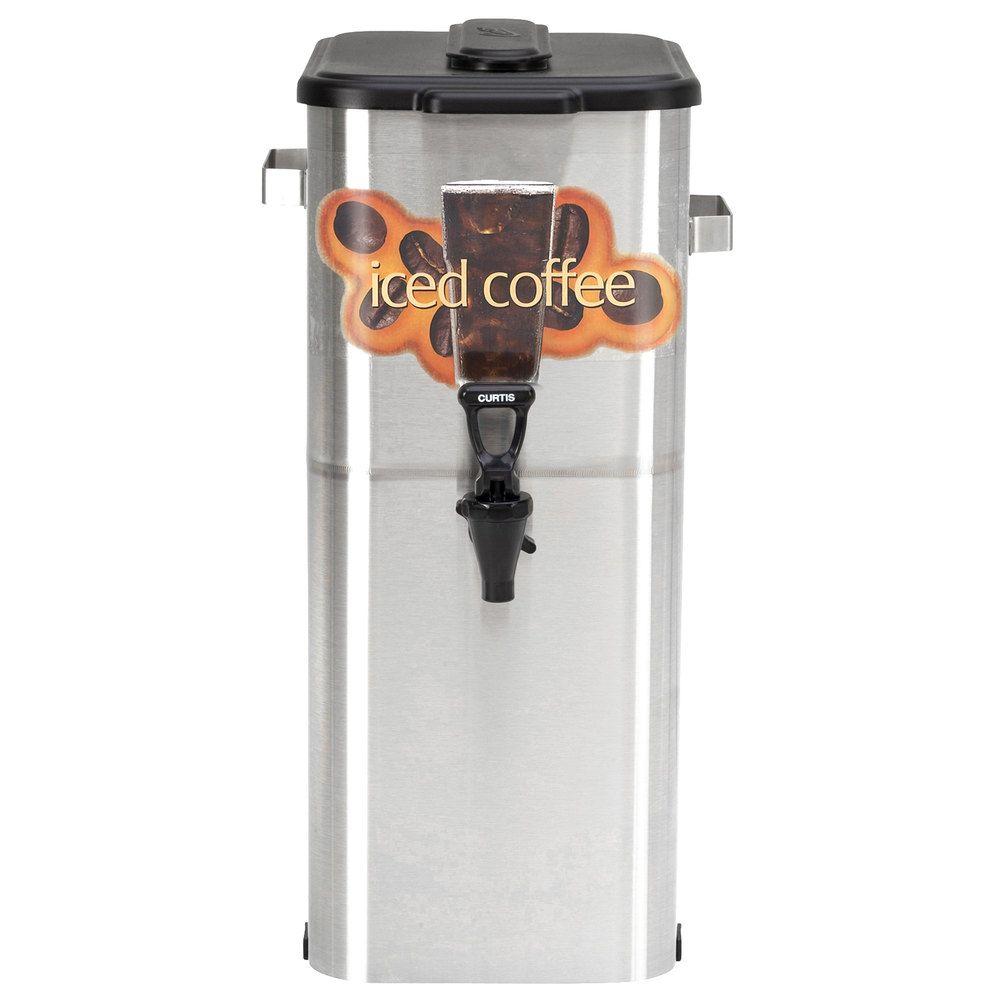 "Curtis Oval 4 Gallon 21"" Iced Coffee Dispenser"