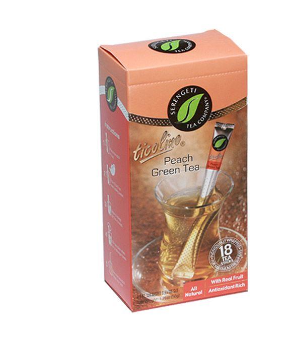 Serengeti Tea Ticolino® Peach Green Tea Sticks