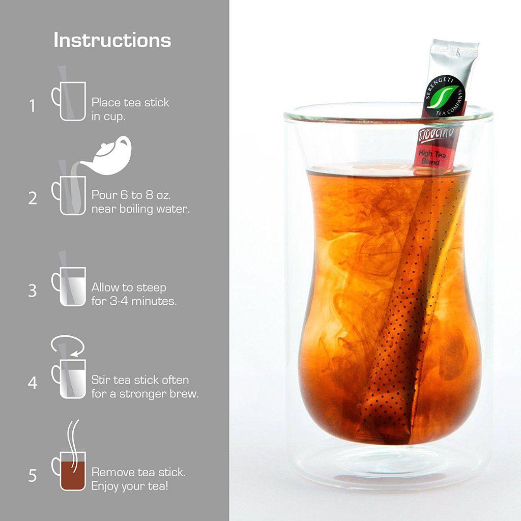 Serengeti Tea Ticolino® High Tea Blend Tea Sticks